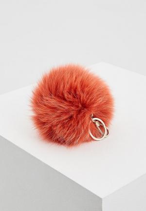 Брелок Furla. Цвет: красный