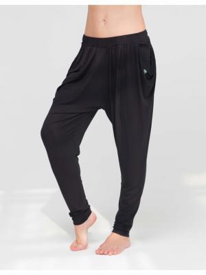 Брюки Never Mind yogadress. Цвет: черный