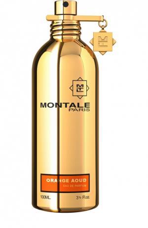 Парфюмерная вода Aoud Orange Montale. Цвет: бесцветный