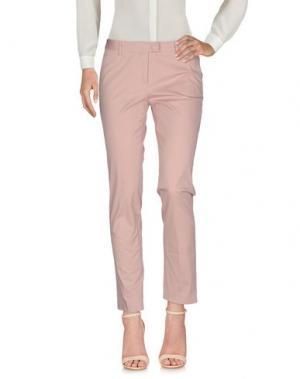 Повседневные брюки ATELIER ARCHIVIO. Цвет: розовый