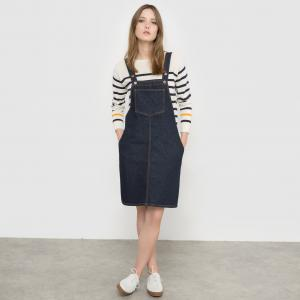 Платье-сарафан джинсовый MADEMOISELLE R. Цвет: темно-синий