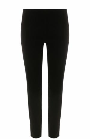 Укороченные брюки прямого кроя REDVALENTINO. Цвет: черный