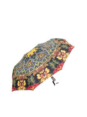 Зонт Slava Zaitsev. Цвет: зеленый, красный, синий
