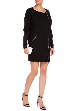Платье Marcobologna. Цвет: черный