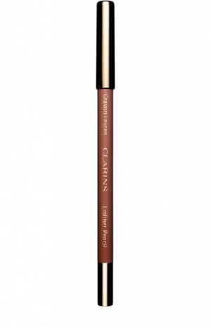 Карандаш для губ Crayon Levres, оттенок 02 Clarins. Цвет: бесцветный