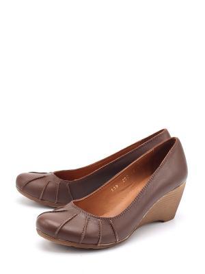 Туфли SPECTRA. Цвет: коричневый