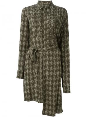 Платье Dashboard A.F.Vandevorst. Цвет: зелёный