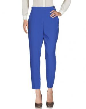 Повседневные брюки ELISABETTA FRANCHI. Цвет: ярко-синий