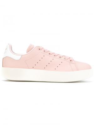 Кеды Stan Smith Bold Adidas. Цвет: розовый и фиолетовый