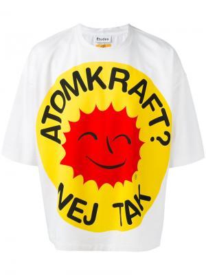 Desert Smiling Sun T-shirt Études. Цвет: белый