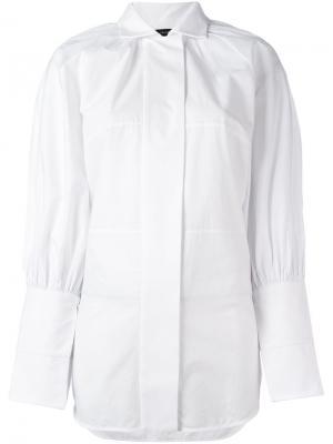 Рубашка с пышными рукавами Ellery. Цвет: белый