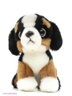 Мягкая игрушка Сенбернар MAXITOYS. Цвет: коричневый, белый, черный