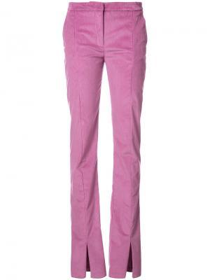 Длинные брюки скинни Jeffrey Dodd. Цвет: телесный