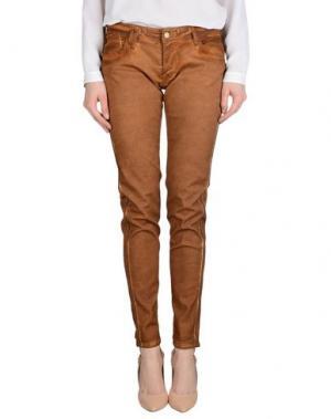 Повседневные брюки LE TEMPS DES CERISES. Цвет: коричневый