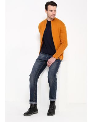 Кофта Finn Flare. Цвет: оранжевый
