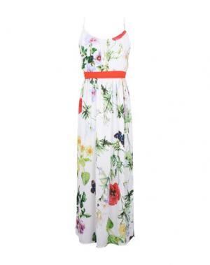 Длинное платье ANGEL EYE. Цвет: белый