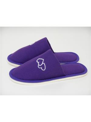 Тапочки женские фиолетовые, SL-96-3 Dream time. Цвет: фиолетовый