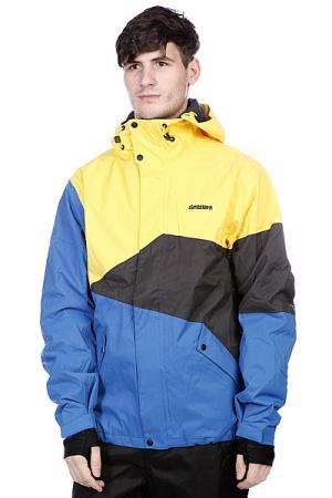 Куртка  Snow Jacket Inventor Men Royal Zimtstern. Цвет: желтый,синий,черный