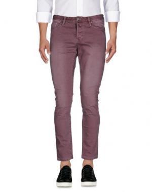 Джинсовые брюки SCOTCH & SODA. Цвет: розовато-лиловый