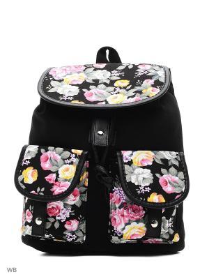 Рюкзак Modis. Цвет: черный, серый, розовый
