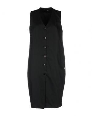 Платье до колена B.YU. Цвет: черный