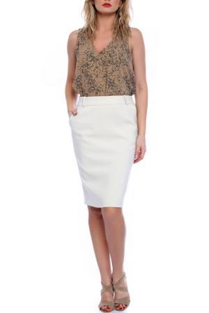 Блузка Emma Monti. Цвет: light brown