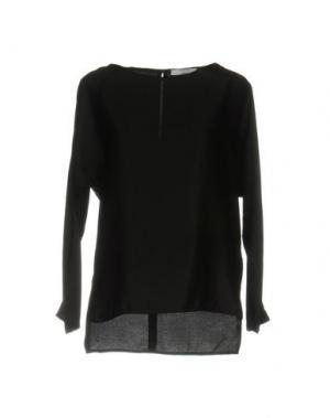 Блузка AGLINI. Цвет: черный