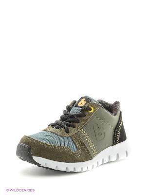 Спортивные ботинки Bibi. Цвет: темно-зеленый