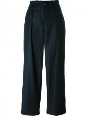 Широкие брюки Akris. Цвет: синий