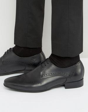 Hudson London Кожаные броги Erato. Цвет: черный