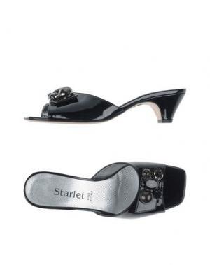 Сандалии STARLET. Цвет: черный