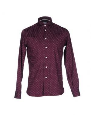 Pубашка BRANCACCIO C.. Цвет: красно-коричневый
