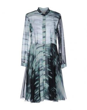 Короткое платье TROU AUX BICHES. Цвет: светло-зеленый
