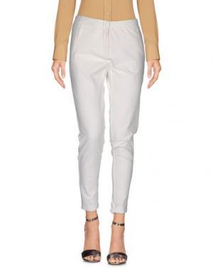 Повседневные брюки ANNARITA N.. Цвет: слоновая кость