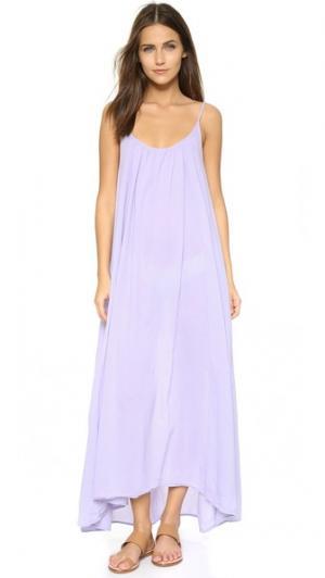 Пляжное платье Tulum 9seed. Цвет: светло-сиреневый