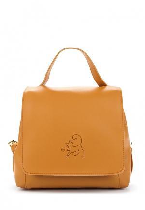 Рюкзак Keddo. Цвет: оранжевый
