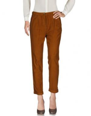 Повседневные брюки POMANDÈRE. Цвет: верблюжий