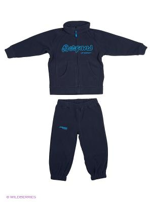 Спортивный костюм Bergans. Цвет: темно-синий, голубой