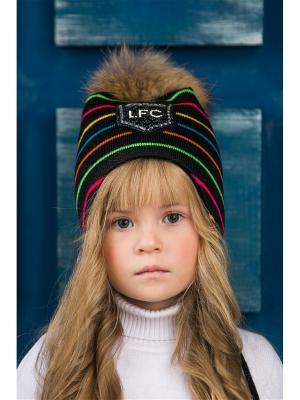 Шапка LFC. Цвет: черный, зеленый, розовый
