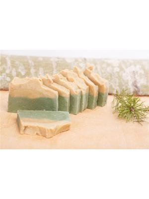 Натуральное мыло - Природная серия Желтая и зеленая глина Entourage. Цвет: горчичный, темно-зеленый
