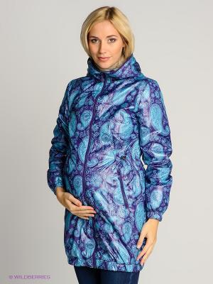 Куртка 3в1 I love mum. Цвет: фиолетовый, голубой