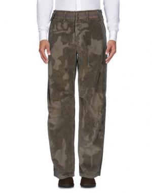 Повседневные брюки LE JEAN DE MARITHÉ + FRANÇOIS GIRBAUD. Цвет: зеленый-милитари