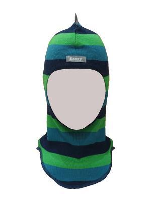 Шапка-шлем дино Beezy. Цвет: синий, морская волна, светло-зеленый