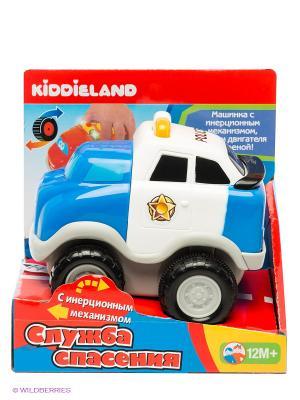Развивающая игрушка Полицейский автомобиль Kiddieland. Цвет: голубой