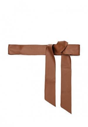 Пояс Sinequanone. Цвет: коричневый
