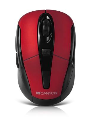 Беспроводная оптическая мышь CANYON CNR-MSOW06R. Цвет: красный