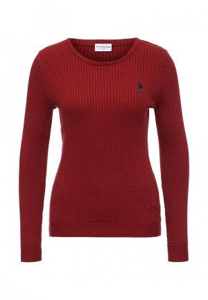 Джемпер U.S. Polo Assn.. Цвет: красный