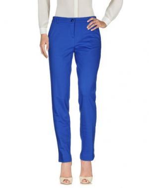 Повседневные брюки NIOI. Цвет: синий