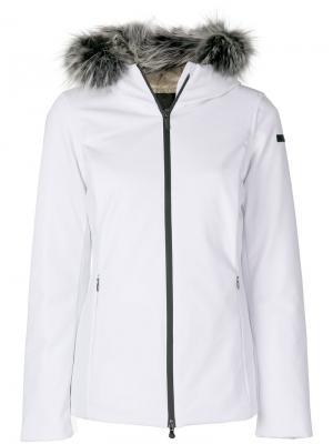 Куртка-пуховик с капюшоном Rrd. Цвет: белый