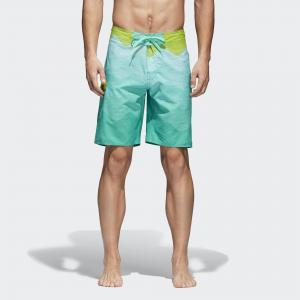Пляжные шорты Wave  Performance adidas. Цвет: зеленый
